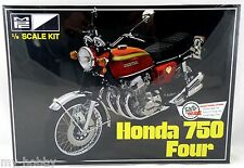 1:8 Scale Honda 750 Four Motorcycle Plastic Model Kit - MPC #827/12