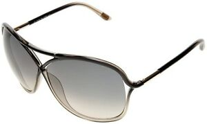 Tom Ford VICKY Sunglasses Black Transparent Honey Frame FT184 20B 65-10 125