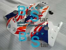 White Gloss Injection Plastic Fairing Fit Honda CBR250RR MC22 1991-1998 10 A2