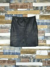 Lakeland Black Leather Skirt Size W32 in.