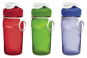 Rubbermaid Assorted Color Plastic Premium Chug Water Bottle BPA Free 14 oz. Manu