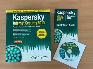 Kaspersky Internet Security 2010 Up To 3 PCs