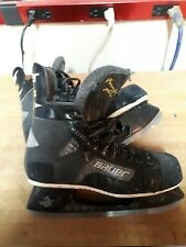 Vintage Mens Bauer Air 90 Hockey Skates Form Fit Plus Used Htf Size 6