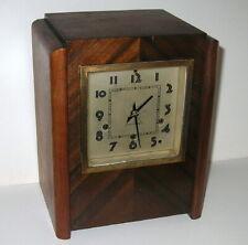 Seth Thomas Art Deco Westminster Clock Rebuilt 124 Movement