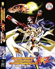 DVD ANIME Symphony Zesshou Symphogear AXZ Vol.1-13 End English Subs + FREE ANIME