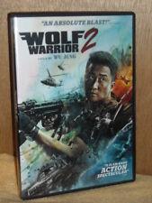 Wolf Warrior 2 (DVD, 2017) Jing Wu Nan Yu Dahong Ni
