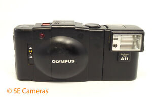 OLYMPUS XA2 35MM FILM CAMERA & A11 FLASH *EXCELLENT CONDITION*