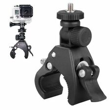 Guidon pour GoPro Hero 1 2 3 3+ 4 caméra tige de selle clamp roll bar mount adapter
