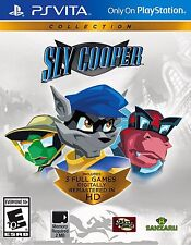 The Sly Cooper Collection [Sony PlayStation Vita PSV, Action Raccoon Thief]