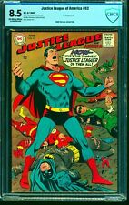 Justice League Of America #63 CBCS VF+ 8.5 Off White to White DC Comics