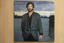 "Eric Clapton Autogramm signed LP-Cover ""August"" Vinyl"