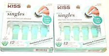 (Pack Of 2) Kiss One-Time Use Lash Adhesive 12 Tubes Each Pack 62348 - With Aloe