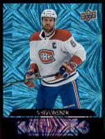 2020-21 UD Series 2 Dazzlers #DZ-74 Shea Weber- Montreal Canadiens