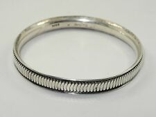 RARE VINTAGE HANS HANSEN Sterling Silver Bangle Bracelet ~ 33.8 g