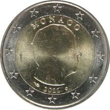 Pièces euro de Monaco pour 2 euro année 2011