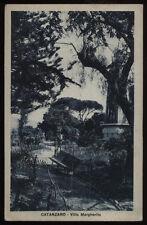 cartolina CATANZARO villa margherita