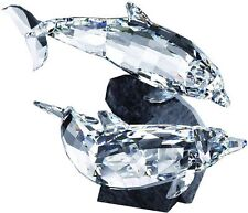 Swarovski Soulmates Dolphins Crystal Figurine - 955350 - NIB - Retired