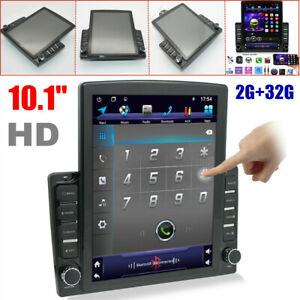 "10.1"" 1DIN Android 9.1 HD Touch Screen 2GB+32GB Car Stereo Radio GPS MP5 Player"