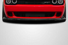 08-18 Dodge Challenger Hellcat Carbon Fiber Front Bumper Lip Body Kit!!! 113986