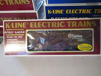 K-LINE 64232 SANTA FE CLASSIC MAP CAR #2  SCALE TRAINS  EXCELLENT W/ORIGINAL BOX