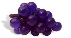 Cluster Of Grape Glass Of murano Design Zora For Venice Forever esem.1 Vintage