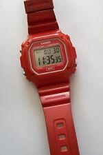 CASIO Red WR Watch