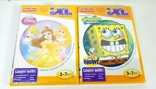 Fisher Price iXL Learning System Princess and SpongeBob Story Art Music NEW
