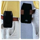 Universal Belt Cell Phone Holster. No clip Has belt loop Fits up to 5.5x2.75x5/8