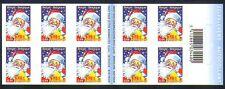 Belgium 2005 Christmas/Santa Claus/Holiday/Greetings/Animation 10v bklt (n32730)