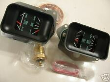 1966 1967 EL CAMINO GAUGE CONVERSION KIT SS AMMETER OIL PRESSURE WATER TEMP
