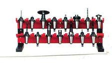 Werkzeugaufnahme Ständer 2-lagig  15 Plätze für SK 40 DIN 69871  Br:870 H:350 mm