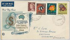 52287 - AUSTRALIA -  POSTAL HISTORY  - FDC COVER 1966 Fish ROYALTY