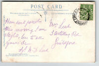 Great Britain 1915 Bramshot Camp Army PO Card / Sm Corner Crease - Z13376