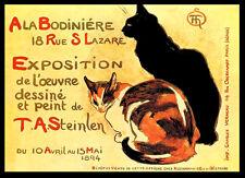 A3 - Exposition De Theophile Alexandre Steinlen Retro Art Nouveau Poster -#1