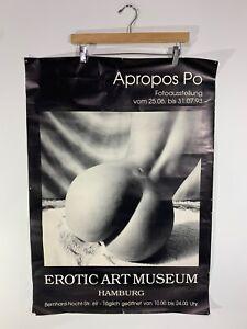 Erotic Art Museum Hamburg Apropos Po 1993 Event Poster