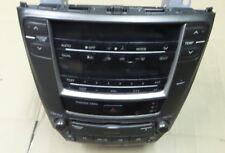 LEXUS IS220D 2009 CD Radio testa con controlli RISCALDATORE COMPLETO 86120 53370