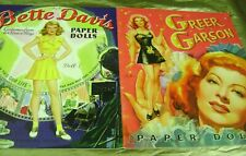 Paper Dolls Lot Bette Davis Greer Garson Movie Stars Uncut Psp Reproductions