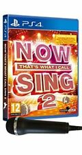 Now That's What I Call Sing 2 With Microphone Sony PlayStation 4 Ps4