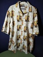 Southpole Designer Men's Short Sleeve Shirt Size XL