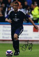 Signed Jose Enrique Newcastle United Autograph Photo Liverpool Villareal