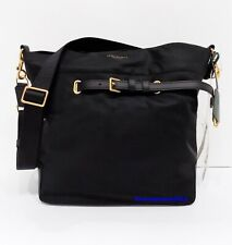 Tory Burch Perry Drawstring Tilda Black Nylon Crossbody Shoulder Bag 58038