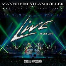 MANNHEIM STEAMROLLER - live - CD BRAND NEW SEALED SLIGHT CRACK IN CASE