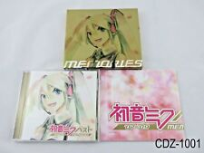 Hatsune Miku Memories Vocaloid w/Poster Japanese Import Project Diva Best CD
