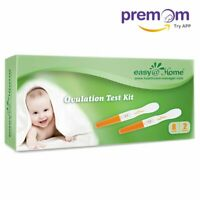 Easy@Home 8 Ovulation (LH) Tests Plus 2 Pregnancy (HCG) tests - Midstream sticks