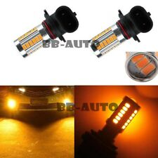 2X 9006 HB4 LED Interior Headlight Yellow 33-SMD Fog Light Driving Lamp Bulb DRL