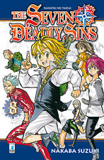 Manga - Star Comics - The Seven Deadly Sins 8 - Nuovo !!!