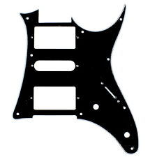 Quality Guitar Pick Guard For Ibanez Ibanez RX750PM RX 750PM,HSH ,3Ply Black