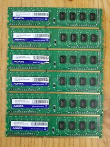 ADATA ddr3 1600 2Gb (6 AVAILABLE)