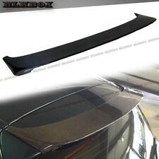 FRP Wrap Carbon Fiber P Look Roof Spoiler Lip For 08-13 BMW E81 E87 Liftback Use
