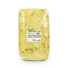 Nutritional Yeast Flakes (Fortified with B12) 500g | BWFO | Free UK Mainland P&P